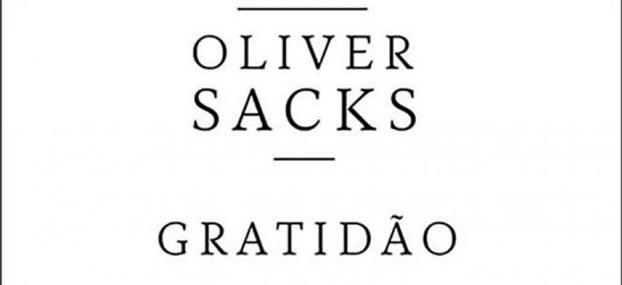 Livro: Gratidão de Oliver Sacks
